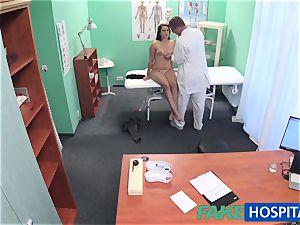 FakeHospital physician probes adorable torrid splendid patient