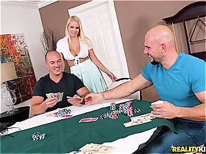 Vanessa cage is the ultimate poker reward