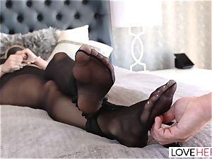LoveHerFeet - A pleasurable sole pounding Surprise