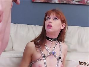 fierce jizz shot compilation and locked in cell then restrain bondage Slavemouth Alexa