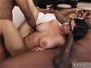 Arab egypt steaming My phat black threesome