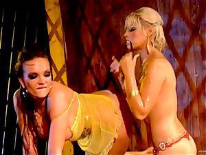sizzling Bridgette B tantalizes her playmates moist hole