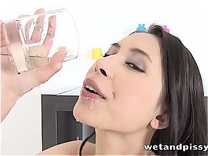 Christy captivating senses hottest when she lets the mayo load