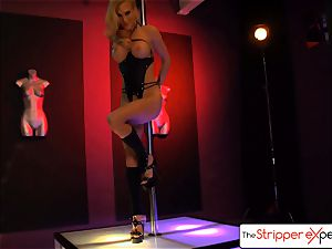 The StripperExperience- Sarah Jessie screwing a large prick